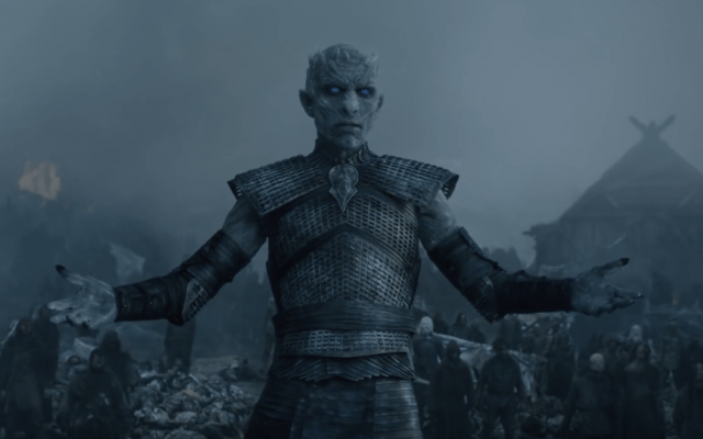 The Night King notifies his army.